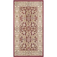 Safavieh Paradise Watercolor Vintage Red Viscose Rug - 2'3 x 3'11