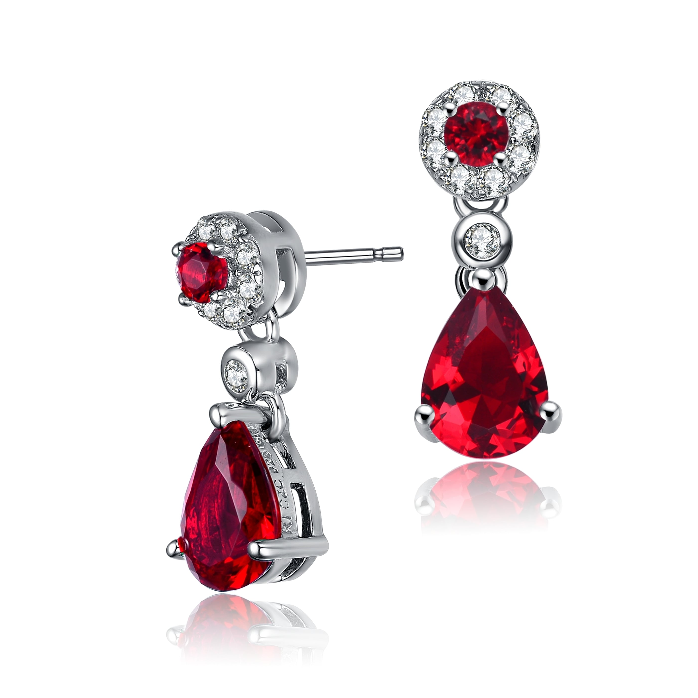 Collette Z Sterling Silver Red