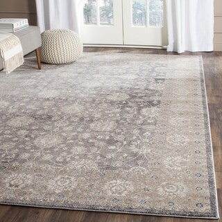 Safavieh Sofia Vintage Oriental Light Grey / Beige Distressed Rug (2' 6 x 4')