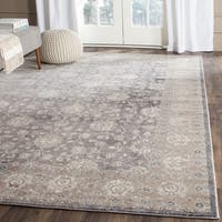 Safavieh Sofia Vintage Oriental Light Grey / Beige Distressed Rug - 2'6 x 4'