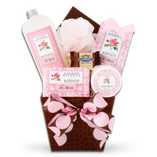Alder Creek Gift Baskets Calming Rose Spa Gift|https://ak1.ostkcdn.com/images/products/13293365/P20004737.jpg?impolicy=medium