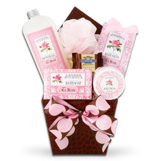 Alder Creek Gift Baskets Calming Rose Spa Gift