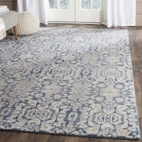 Safavieh Sofia Vintage Damask Blue/ Beige Distressed Rug - 2' x 3'