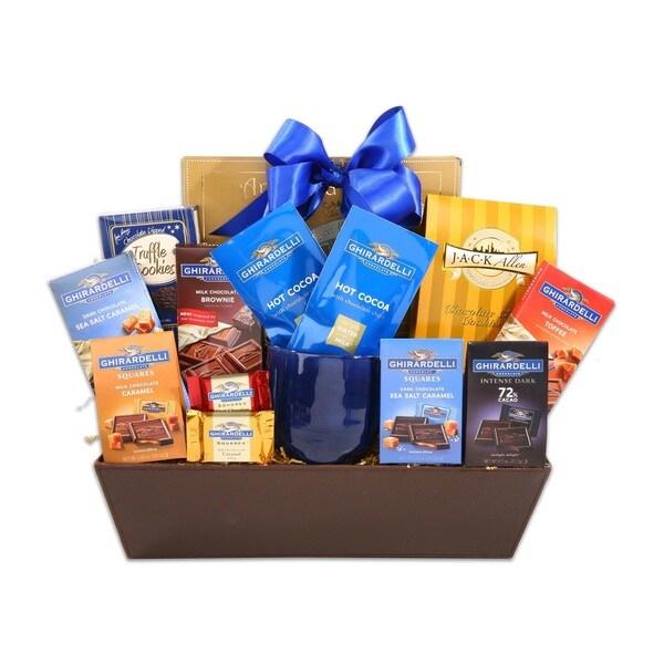 Alder Creek Gift Baskets Ghirardelli Sampler