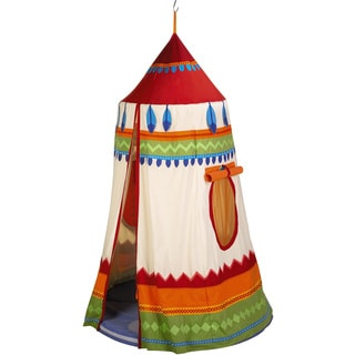 Haba Multicolored Polyester American Indian Hanging Tent