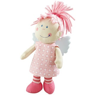Haba Tine Polyester and Organic Cotton Guardian Angel Plush Doll