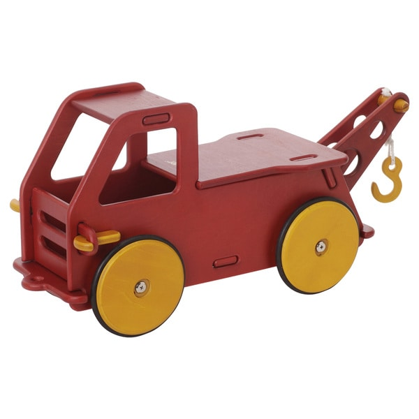 Moover Red Wood Baby Truck