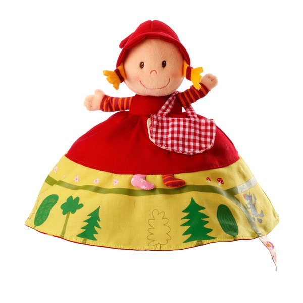 Haba Lilliputiens Reversible Red Riding Hood Plush Story Telling Toy