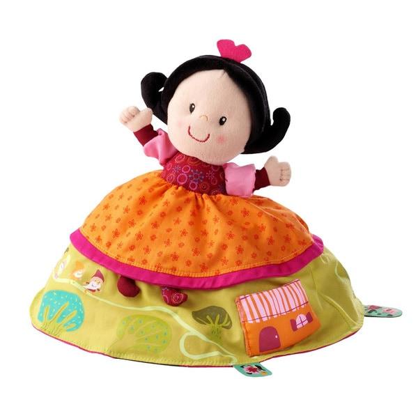 Haba Lilliputiens Reversible Snow White Plush Storytelling Toy