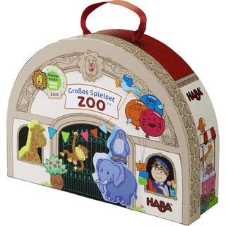 Haba At the Zoo Large Play Set