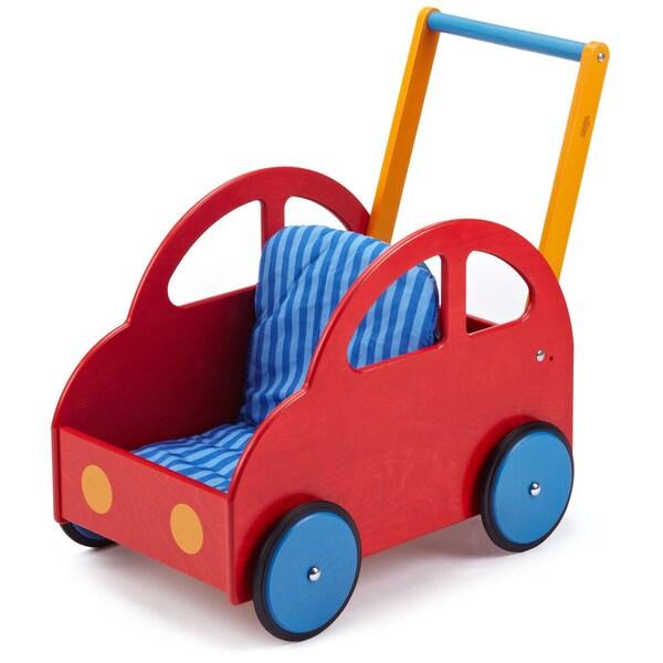 Haba Multicolor Wood Pushing Car