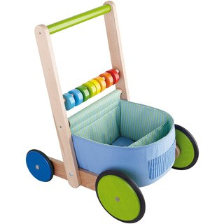 Haba Multicolored Fun Walker Wagon