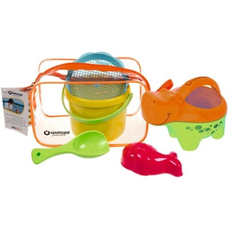 Spielstabil Hippo Multicolor Plastic Sand and Beach Set