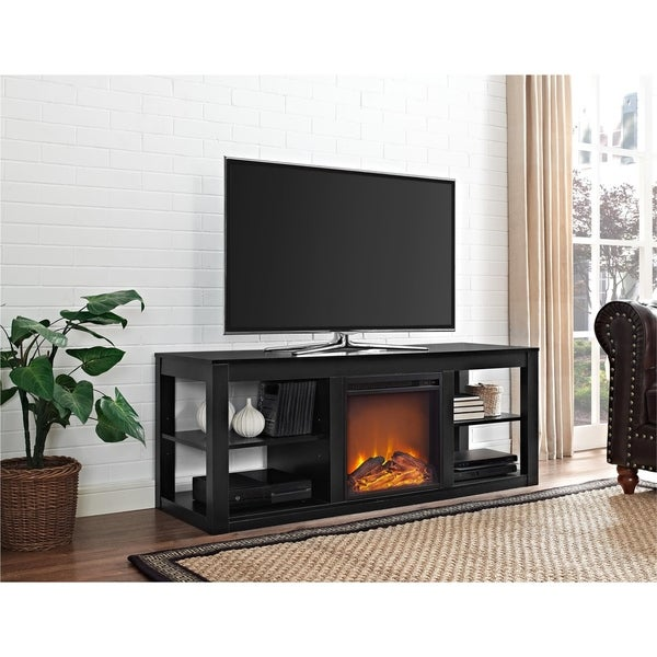 Ameriwood Home Parsons Console Fireplace - N/A. Opens flyout.