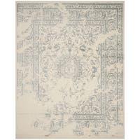 Safavieh Adirondack Vintage Distressed Ivory / Slate Grey Rug - 9' x 12'