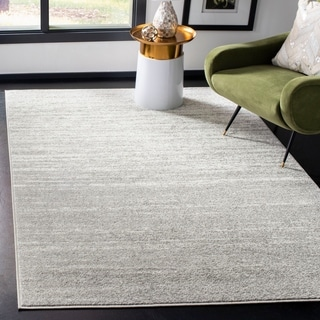 Safavieh Adirondack Vintage Ombre Light Grey / Dark Grey Rug (9' x 12')