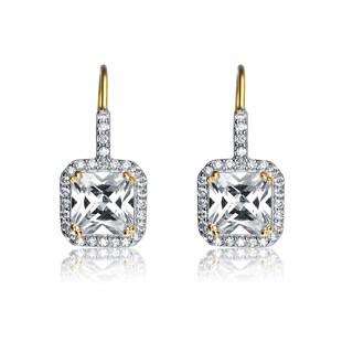 Collette Z Sterling Silver Cubic Zirconia Drop Earrings