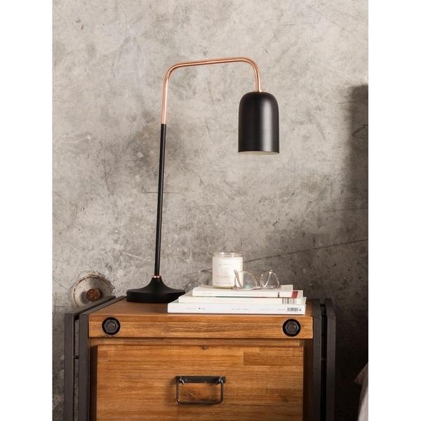 Aurelle Home Sleek Contemporary Modern Table Lamp