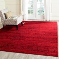Safavieh Adirondack Modern Red/ Black Rug - 9' x 12'