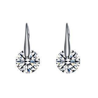 Collette Z Sterling Silver Cubic Zirconia Party Earrings