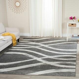 Safavieh Adirondack Modern Charcoal/ Ivory Rug (9' x 12')