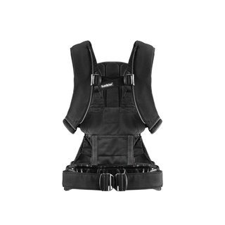 Baby Bjorn Black Cotton Baby Carrier