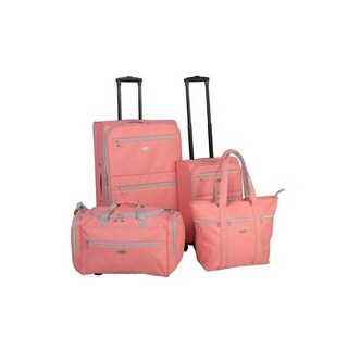 American Flyer Perfect 4-Piece Spinner Luggage Set (2 options available)