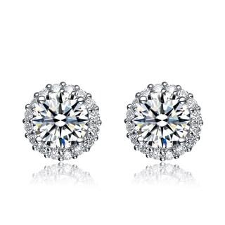 Collette Z Cubic Zirconia Button Earrings