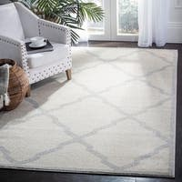 Safavieh Amherst Indoor/ Outdoor Navy/ Beige Rug - 10' x 14'