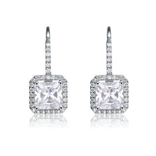 Collette Z Sterling Silver Cubic Zirconia Formal Dangle Earrings|https://ak1.ostkcdn.com/images/products/13295274/P20006098.jpg?impolicy=medium