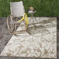Safavieh Amherst Indoor/ Outdoor Wheat/ Beige Rug - 10' x 14'