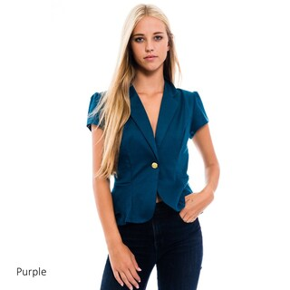 MOA Collection Women's Solid Blazer Jacket (More options available)