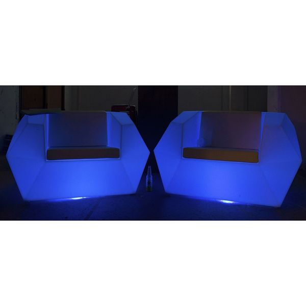 Chantel Color Changing LED Lounge Chair