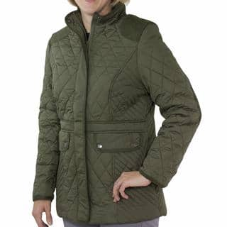 Totes Women's Mid-length Quilted Jacket|https://ak1.ostkcdn.com/images/products/13297885/P20006456.jpg?impolicy=medium