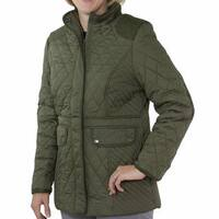 Totes Women's Mid-length Quilted Jacket