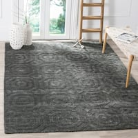 Safavieh Elements Modern Geometric Dark Grey Rug - 8' x 10'