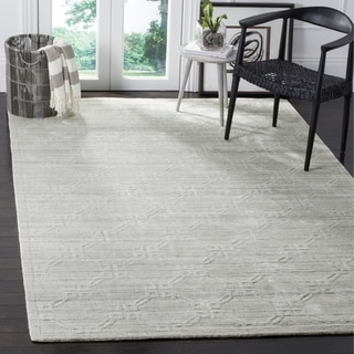 Safavieh Elements Modern Geometric Light Grey Rug (9' x 12')