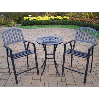 Hometown Outdoor 3-Piece Bar Stool and Table Set