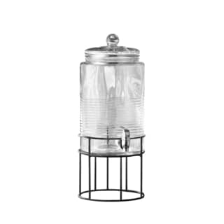 Covina 250-ounce Beverage Dispenser with Metal Stand