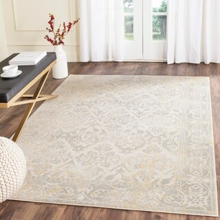 Safavieh Evoke Vintage Ivory / Grey Distressed Rug (9' x 12')