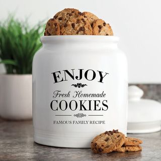 Fresh Homemade Cookies Cookie Jar