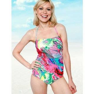 Monet One-piece Bandeau Swimsuit