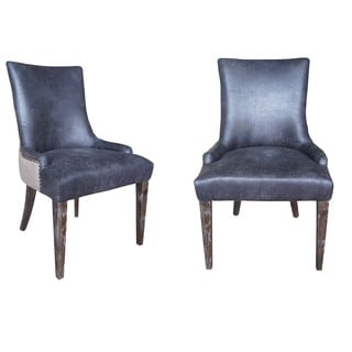 Sanibel Island Dining Chair - Muddy Brown Linen (Set of 2)