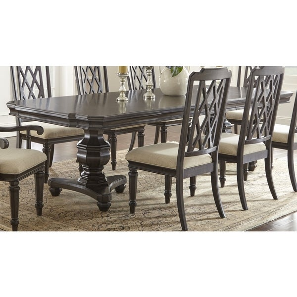 vanderbilt furniture. Vanderbilt 112-Inch Pedestal Dining Table By Greyson Living Furniture T