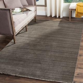 Safavieh Handmade Himalaya Charcoal Wool Area Rug (9' x 12')