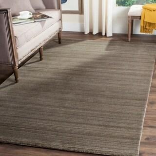 Safavieh Handmade Himalaya Pewter Wool Area Rug (9' x 12')