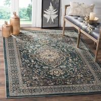 Safavieh Lyndhurst Traditional Teal/ Grey Rug - 8'11 x 12'rectangle