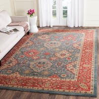 Safavieh Mahal Traditional Grandeur Navy/ Red Rug - 8' x 10'