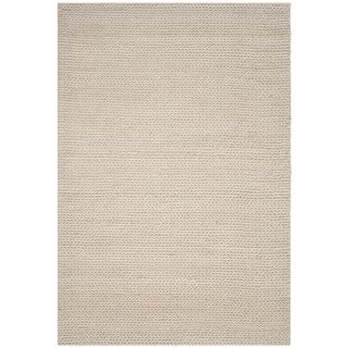 Safavieh Manhattan Contemporary Handmade Ivory Wool Rug (8' x 10')