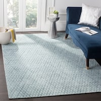 Safavieh Handmade Mirage Indigo Wool/ Viscose Rug - 8' x 10'
